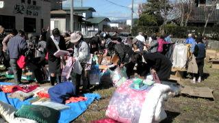 大船渡で震災支援の活動
