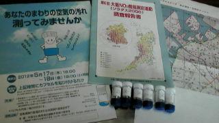 ソラダス2012<br />  !第6回大阪NO2<br />  二酸化窒素簡易測定運動