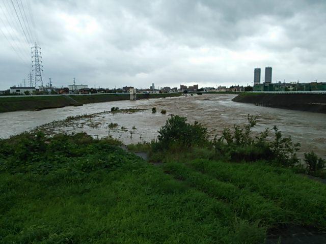 大津川も大変なことでした。