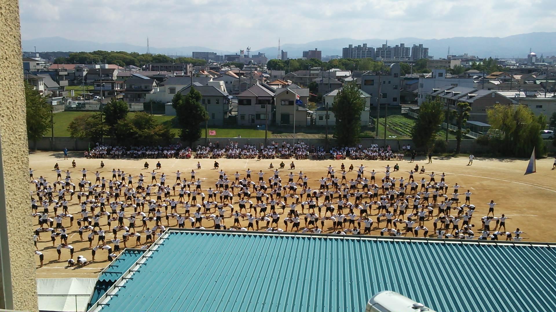 中学の体育大会と障害者のスポーツ大会