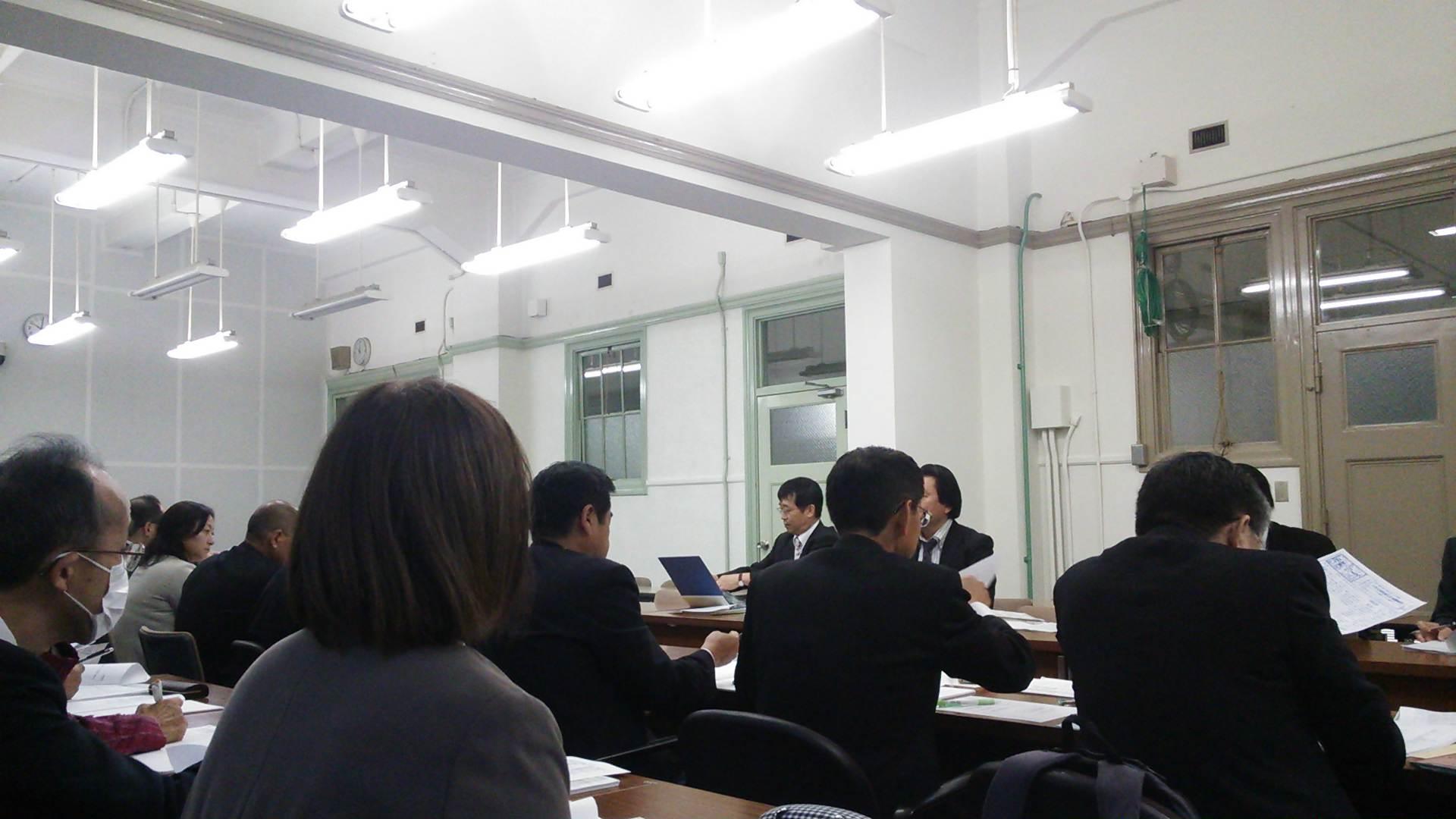 大阪府との交渉に参加!