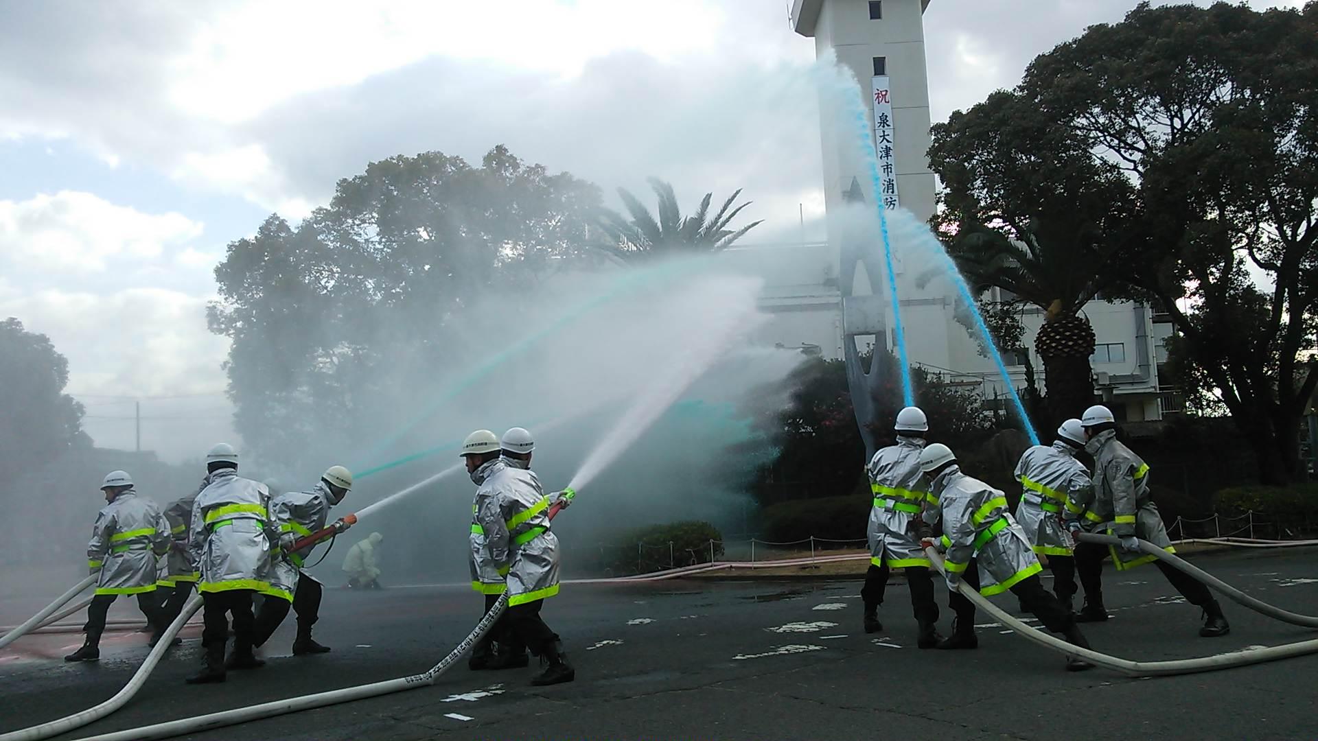 消防出初式に、成人式…泉大津市2015