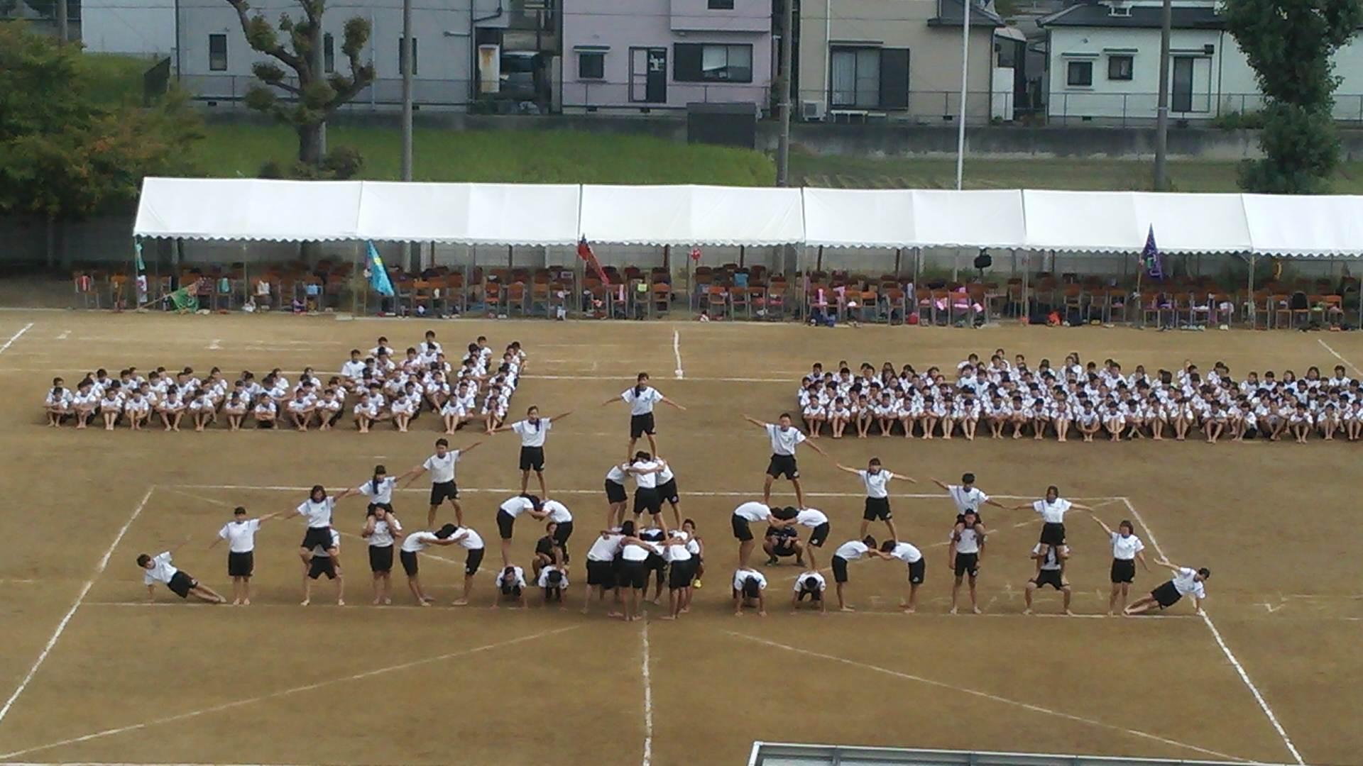 今日は1日、誠風中学の体育大会へ♪
