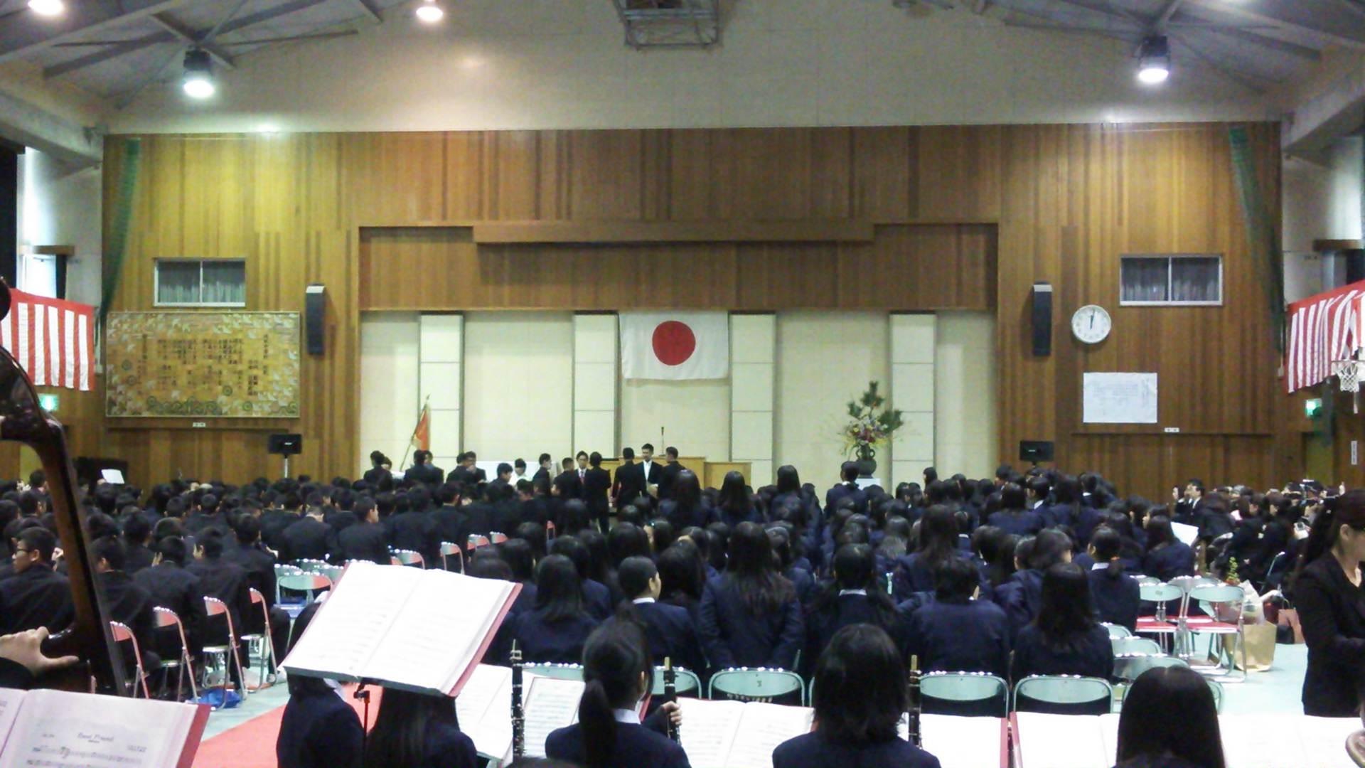 誠風中学の卒業式へ…感謝の伝え方♪