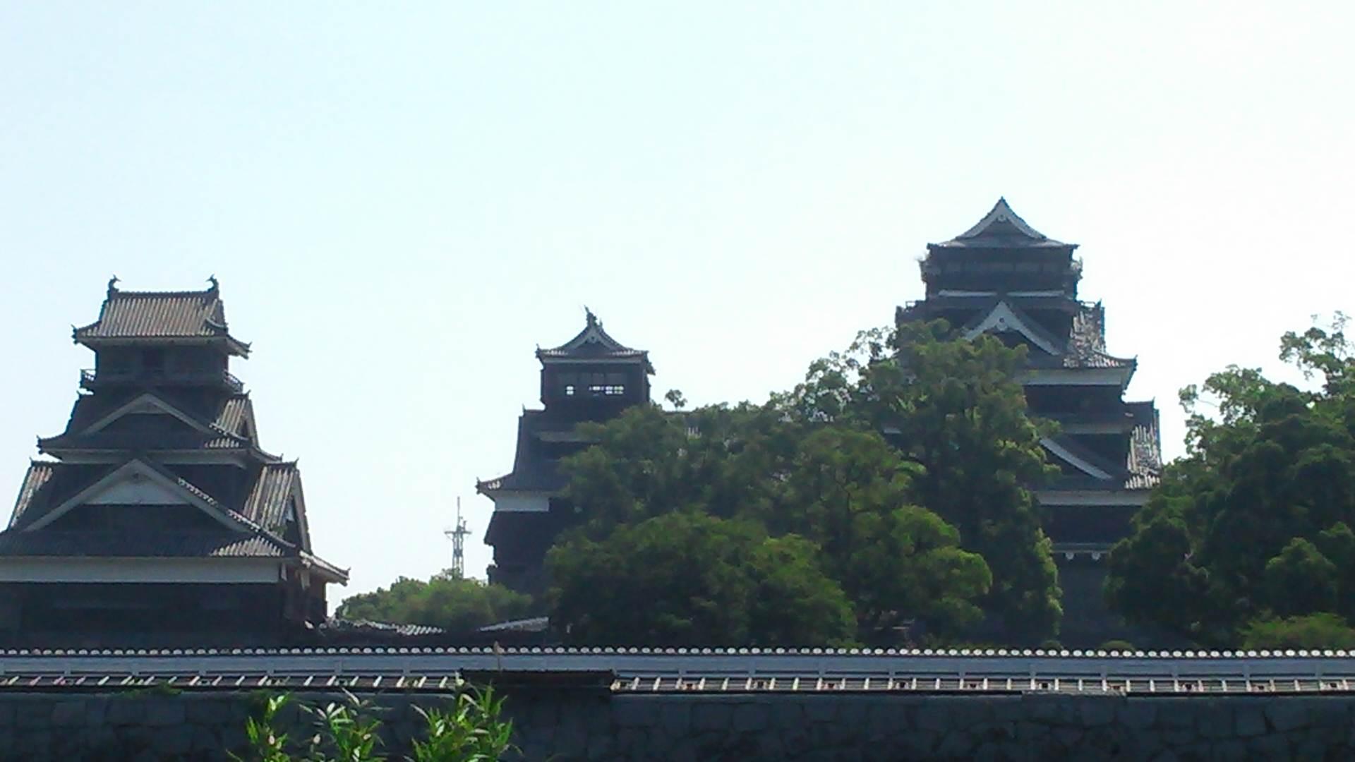 熊本城の今…