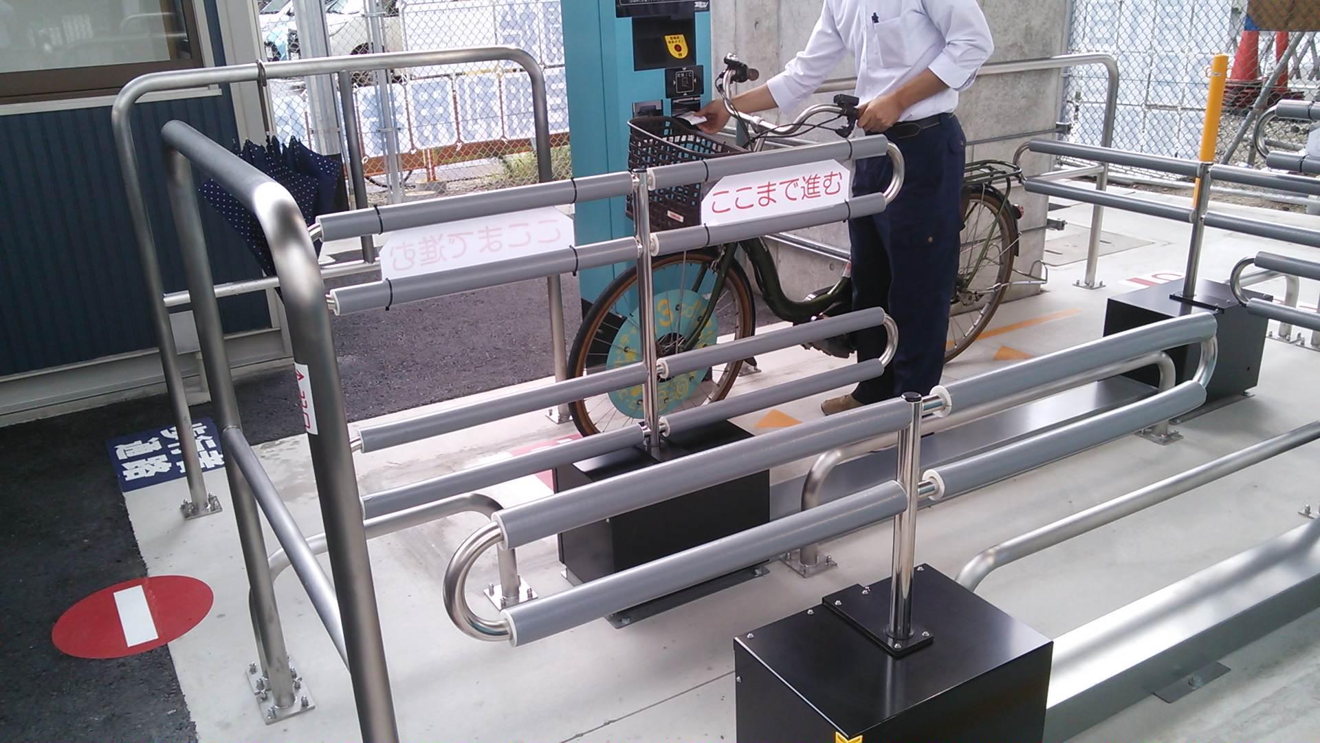 泉大津駅南高架下駐輪場見学会へ!