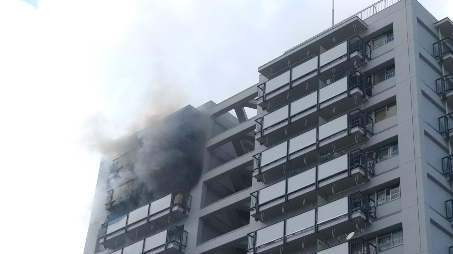 府営要池住宅で火災の状況について