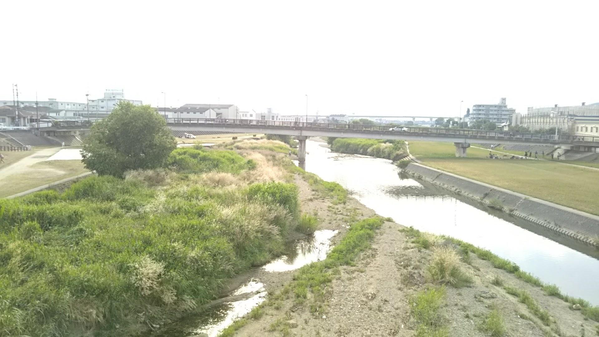 大津川堆積土砂除去工事