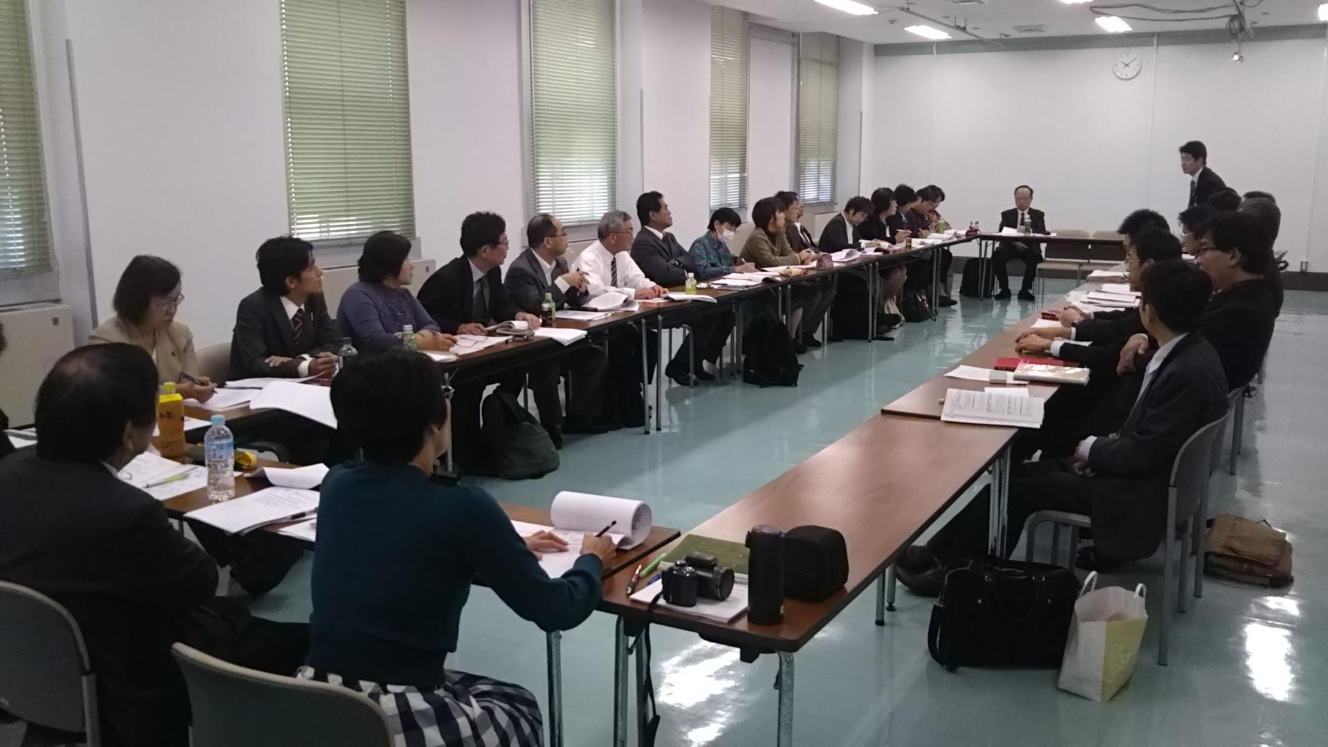 阪南地区議員団での大阪府交渉に参加して